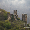 Castle In The Mountains. by Clare Bambers