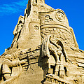 Castle In The Sand by Colleen Kammerer