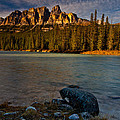 Castle Mountain by Craig Brown