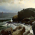 Castle Rock At Marblehead by Mountain Dreams