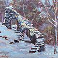 Castle Ruins by Alicia Drakiotes