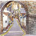 Castle Street Conwy North Wales by Dai Wynn