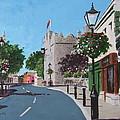 Castle Street Dalkey by Tony Gunning