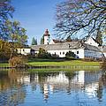 Castle Velke Losiny by Jaroslav Frank