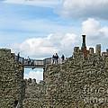Castle Wall Walk by Ann Horn