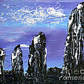 Castlenalact Standing Stones by Alys Caviness-Gober