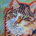 Cat Commission by Jenn Cunningham