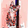 Cat I See You by Go Van Kampen