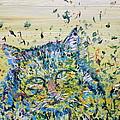 Cat In The Grass by Fabrizio Cassetta