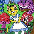 Cat In Wonderland by Tambra Wilcox