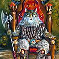 Cat King by Naushad  Waheed
