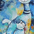 Cat Mommy by Jutta Maria Pusl