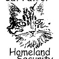 Cat Patrol Homeland Security by Robyn Stacey