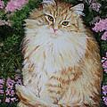 Kitten Cat Painting Perfect For Child's Room Art by Diane Jorstad