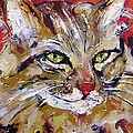 Feline Portrait  by Mary Cahalan Lee- aka PIXI