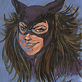 Cat Woman01 by Simon Drohen