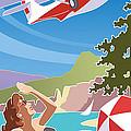 Catalina, Mid Century Travel by Larry Hunter