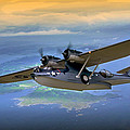Catalina Over Islands by Craig Purdie