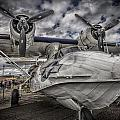 Catalina Pby-5a Miss Pick Up Hdr by Gareth Burge Photography