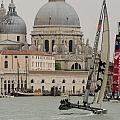 Catamaran In S.marco by Lorenzo Tonello