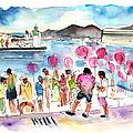 Catamaran Party In Cartagena by Miki De Goodaboom