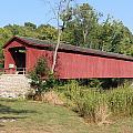 Cataract Falls Covered Bridge by Clayton Kelley