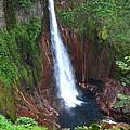 Catarata Del Toro Waterfall by Stephen Dennstedt