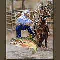 Catch And Release Cowboy by Tim  Joyner
