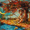 Catching A Goldfish II by Michal Kwarciak