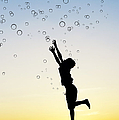 Catching Bubbles by Tim Gainey