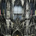 Cathederal In Koln by Angelika Drake