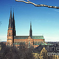 Cathedral At Uppsala by Bob Phillips