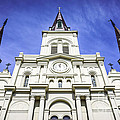 Cathedral-basilica Of St. Louis King Of France by Paul Velgos