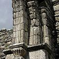 Cathedral Broken Arch At Glendalough by Christiane Schulze Art And Photography