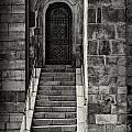 Cathedral Door And Steps by Sophie McAulay