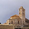 Cathedral In Ibiza Town by Karol Kozlowski