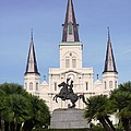 Cathedral In Jackson Square by Alys Caviness-Gober