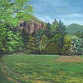 Cathedral Ledge From Westside Road by Sharon E Allen