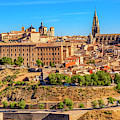 Cathedral, Medieval City, Toledo, Spain by William Perry