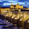Cathedral Mosque And Roman Bridge In Cordoba by Artur Bogacki