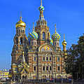 Cathedral Of Christ's Resurrection On Spilled Blood by Claudio Bacinello