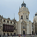 Cathedral Of Lima by Allen Sheffield