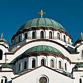 Cathedral Of Saint Sava In Belgrade Serbia by Aleksandar Mijatovic