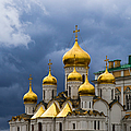 Cathedral Of The Annunciation Of Moscow Kremlin by Alexander Senin