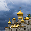 Cathedral Of The Annunciation Of Moscow Kremlin - Square by Alexander Senin