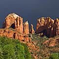Cathedral Rock Before The Storm by Alexey Stiop