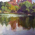 Cathedral Rock Reflection by Sharon Weaver