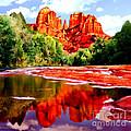 Cathedral Rock Sedona Arizona by Bob and Nadine Johnston