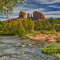 Cathedral Rock Sedona Az Dsc09018 by Greg Kluempers