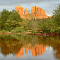 Cathedral Rocks Reflection by Alan Vance Ley